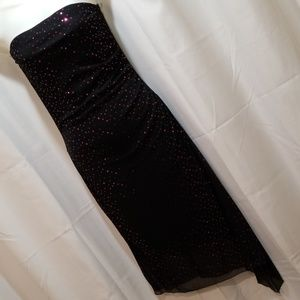 My Michelle strapless dress Size L